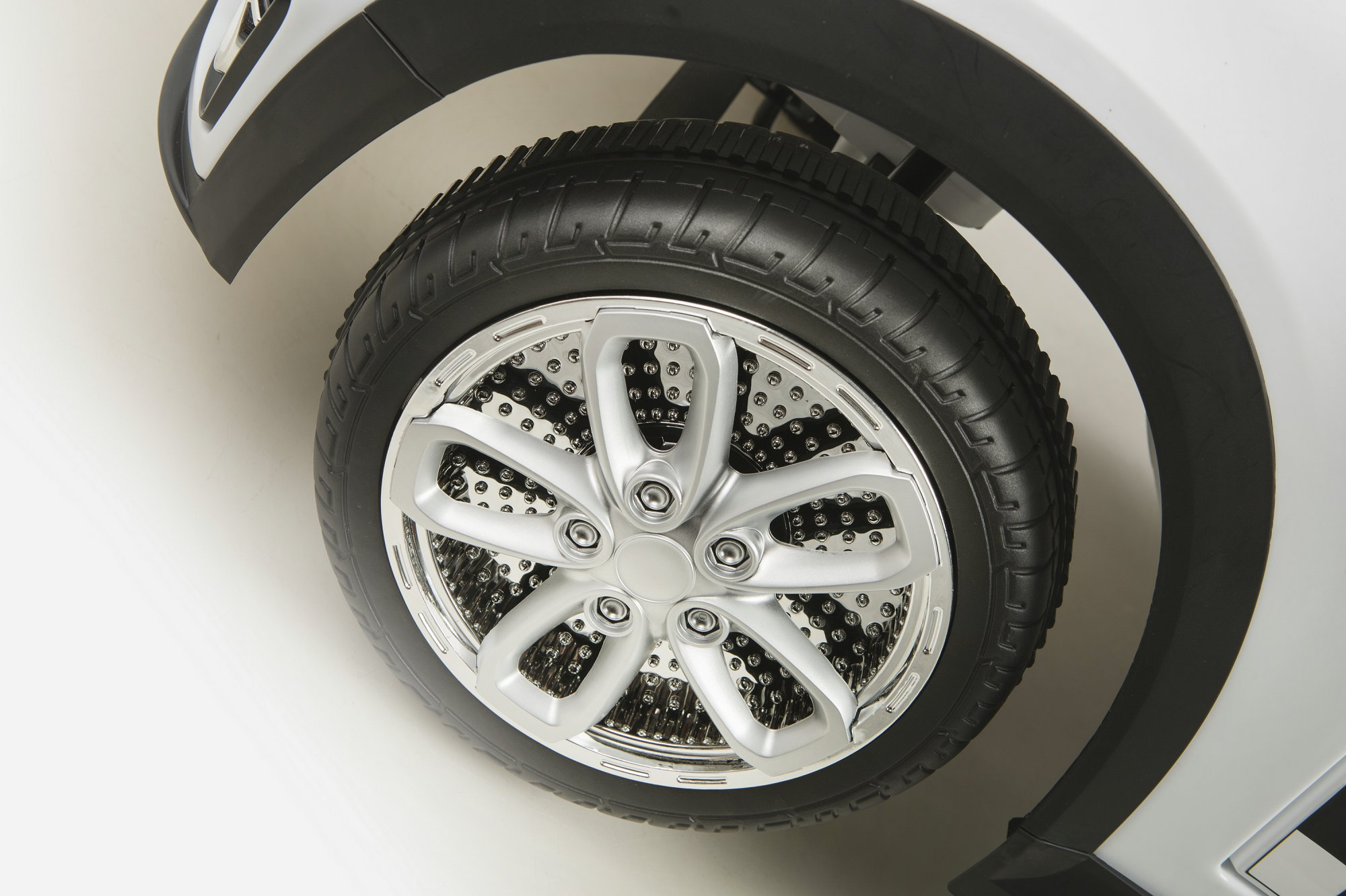 mini luxe style blanco rueda