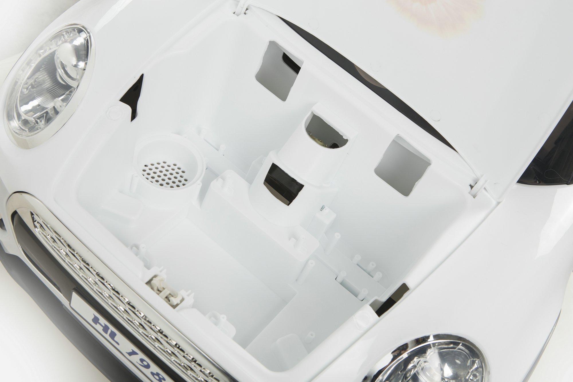 mini luxe style blanco maletero