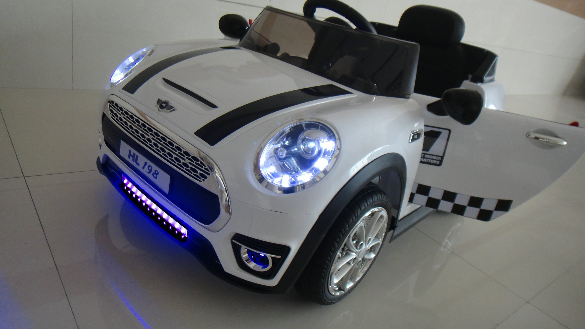 mini luxe style 12v blanco luces