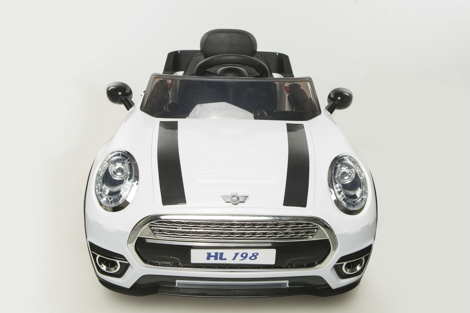 mini luxe style 12v blanco frontal