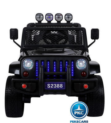 MONSTER JEEP NEGRO FRONTAL width=