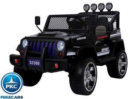 Monster Jeep 12V 2.4G Negro