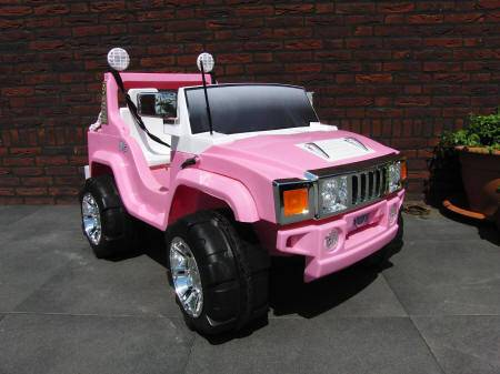 HUMMER ROSA LATERAL DERECHO