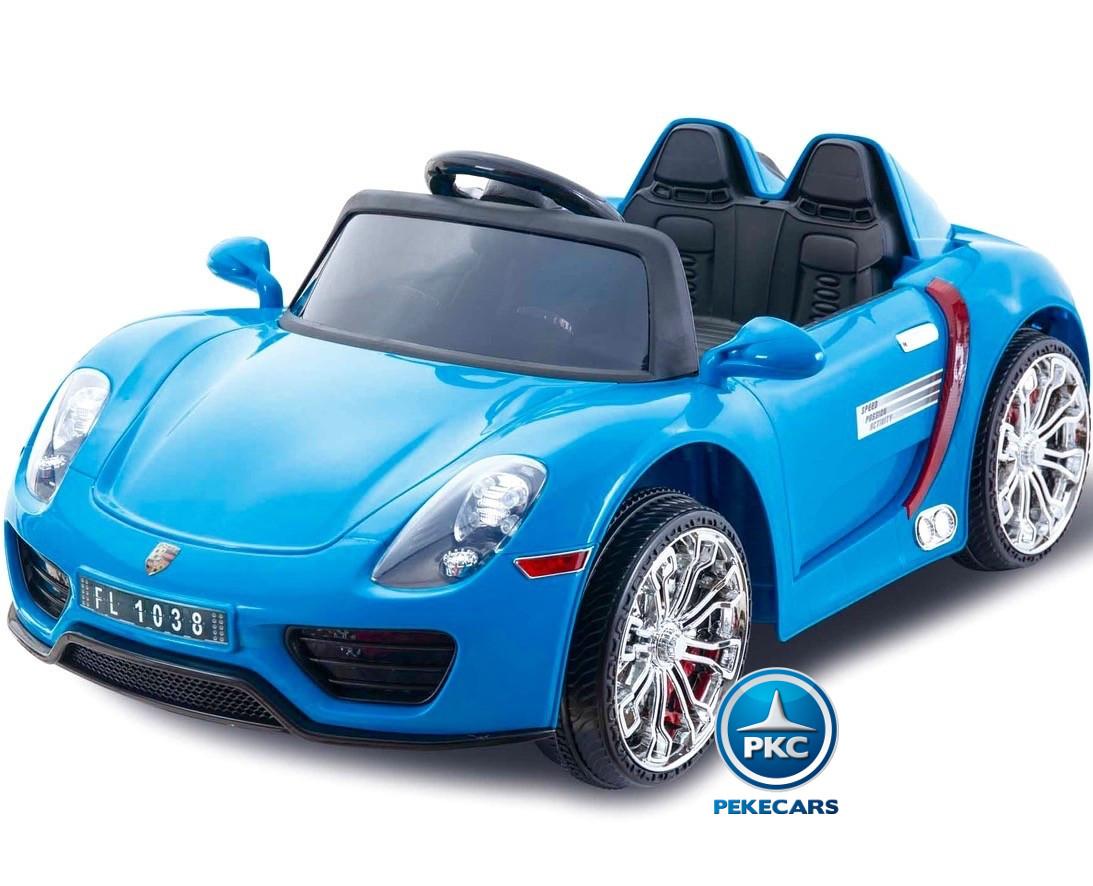 Porsche 12v 2 Azul Style 4gInforchess rtdQshC