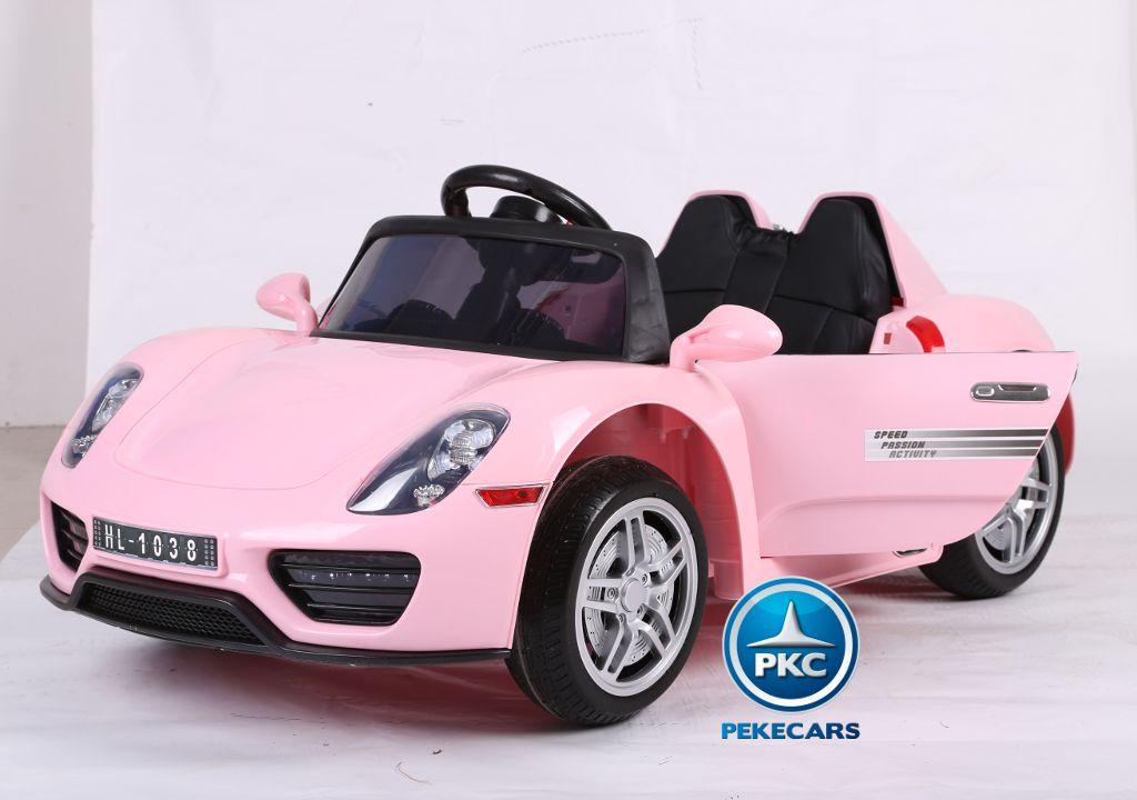 Porsche style 12V 2.4G Rosa