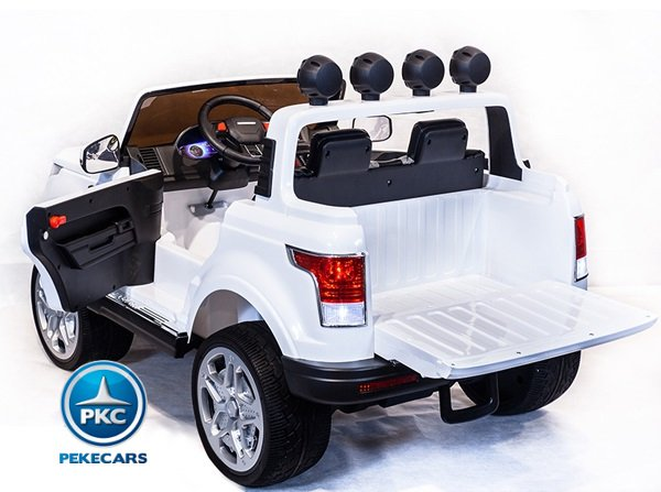 JEEP HAPPER BLANCO TRASERA