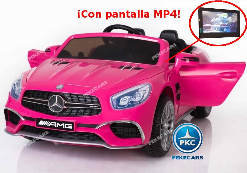 COCHE ELECTRICO MERCEDES SL65 ROSA MP4 LATERAL IZQUIERDO 1 width=