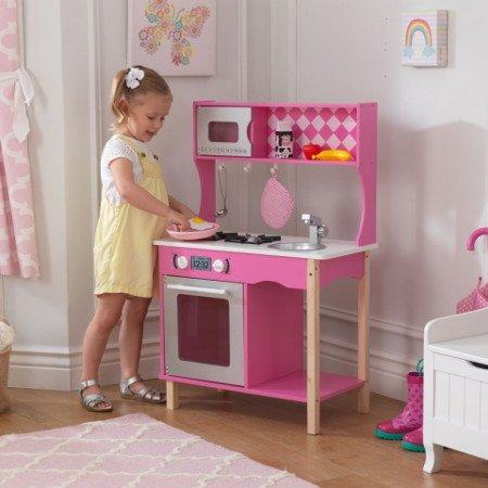 Cocinitas de madera para ni os kidkraft y howa tiendas for Planos para hacer una cocina de juguete