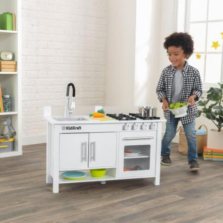 COCINA KIDKRAFT 53407 LITTLE COOK WORK STATION