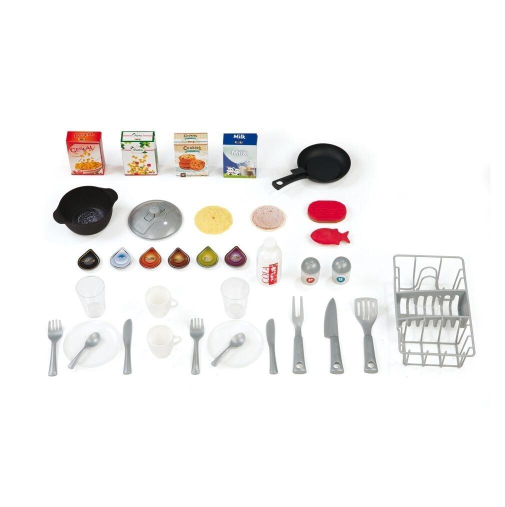 Todos los accesorios de que dispone la cocina