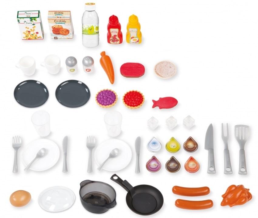 Todos los accesorios de que dispone esta cocina