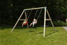 Columpio Kata Doble con asiento bebe