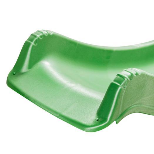 Rampa Tobogan verde 90cm - vista base suelo