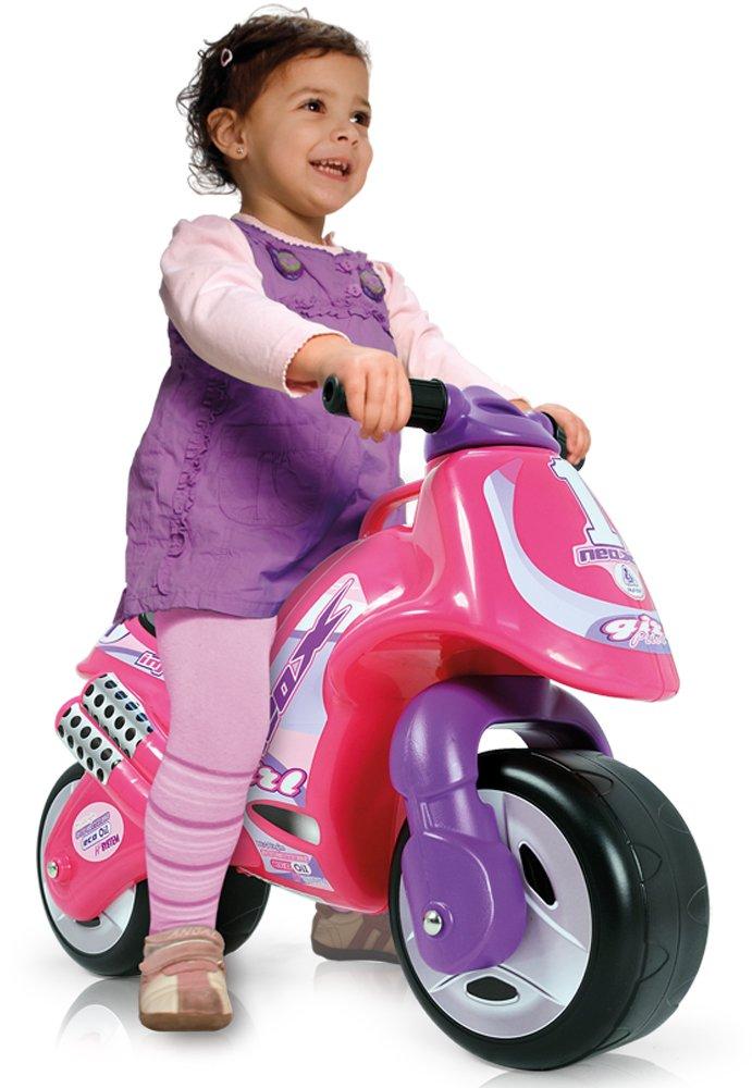 correpasillo moto rosa