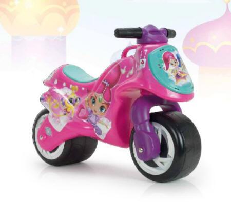 moto rosa correpasillos