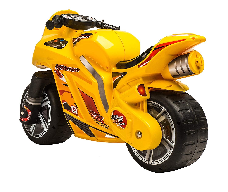 correpasillos amarillo de dos ruedas