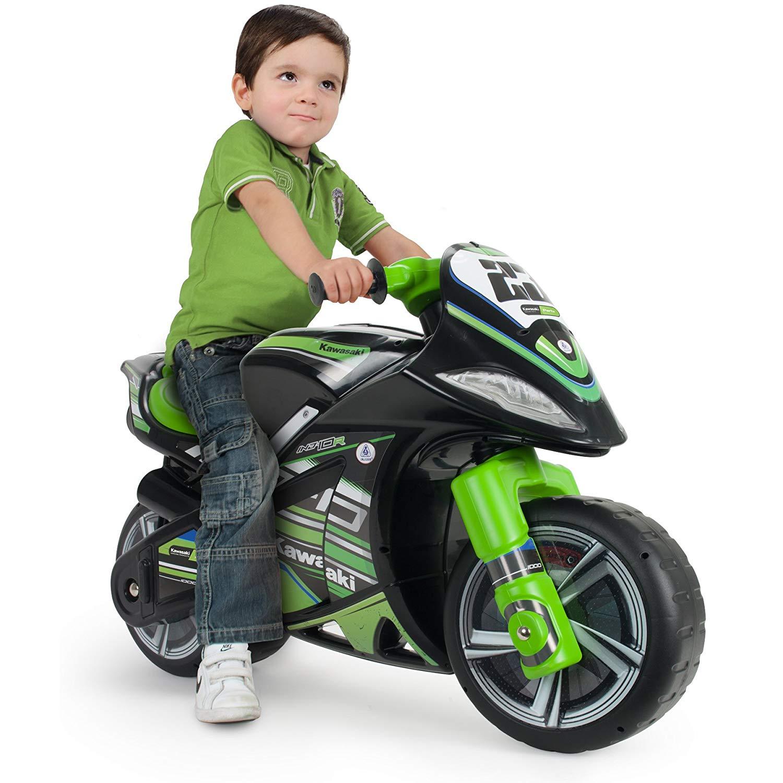 moto correpasilos verde