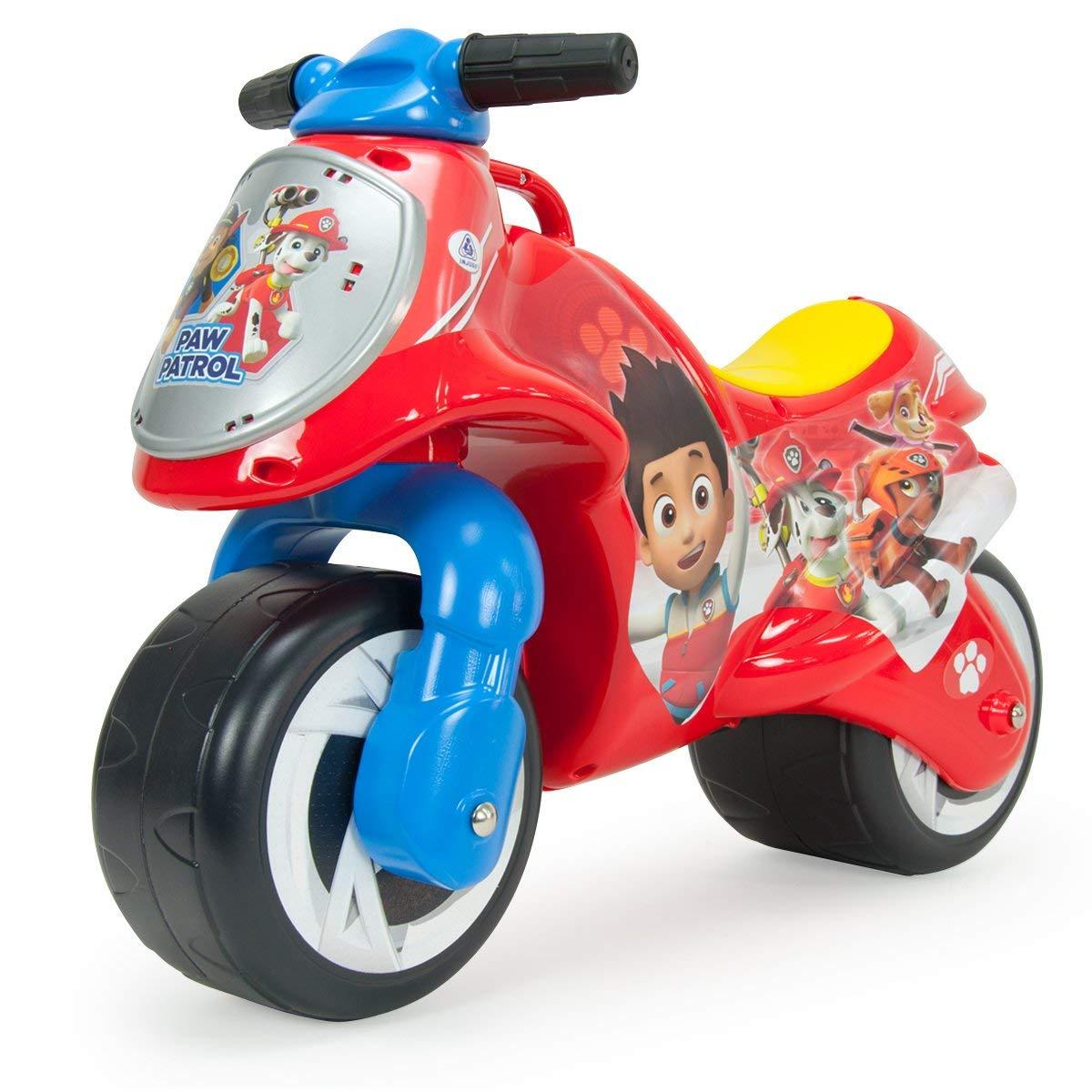 moto roja injusa