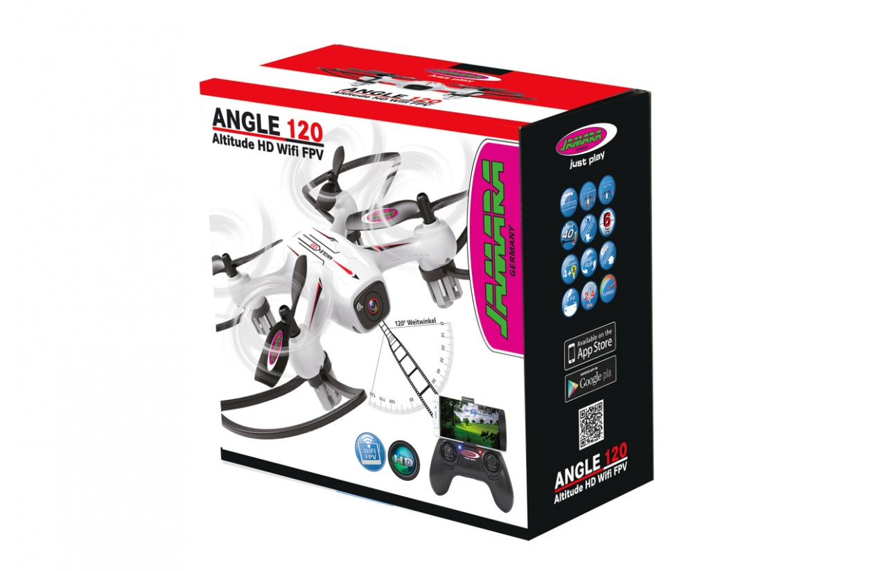 Angle 120 WideAngle Drone Altitude HD FPV Wifi 2.4G width=