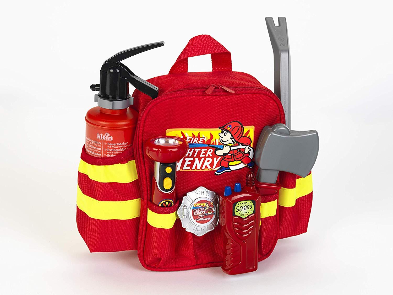 mochila de bomberos de juguete width=