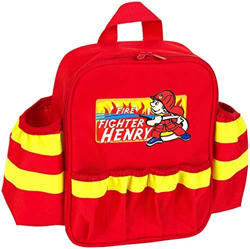 mochila de bomberos para niños width=