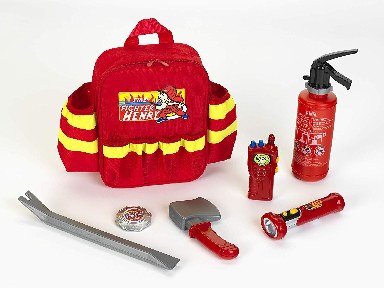 mochila de bomberos