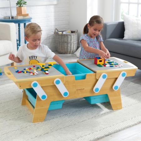 KIDKRAFT 17512 MESA BUILDING BRICKS PLAY N STORE