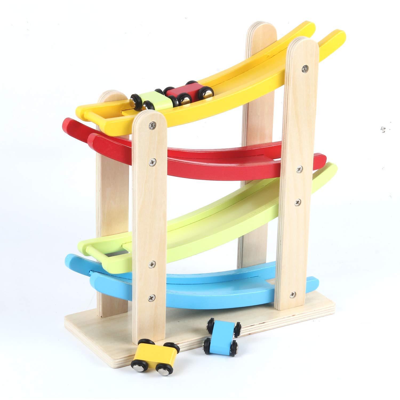 coches carrera juguete madera
