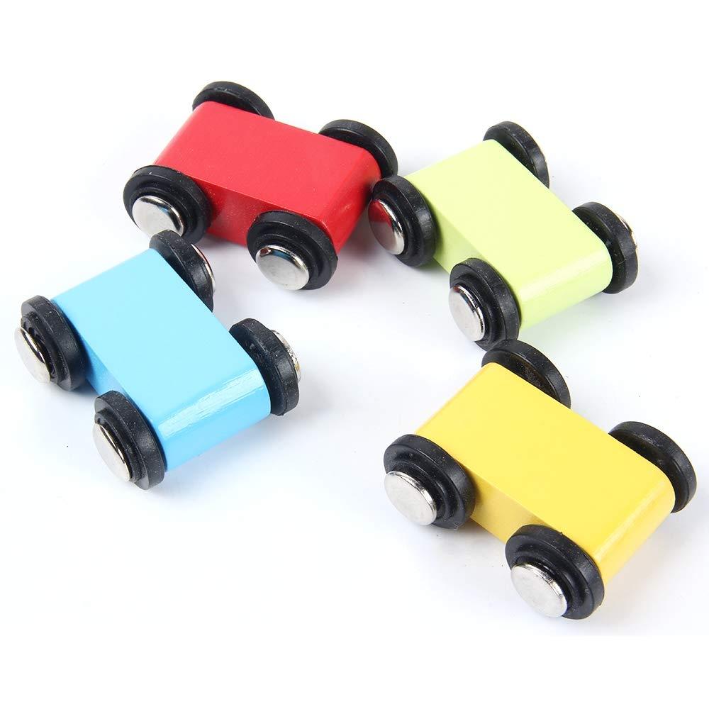 coches de madera juguete
