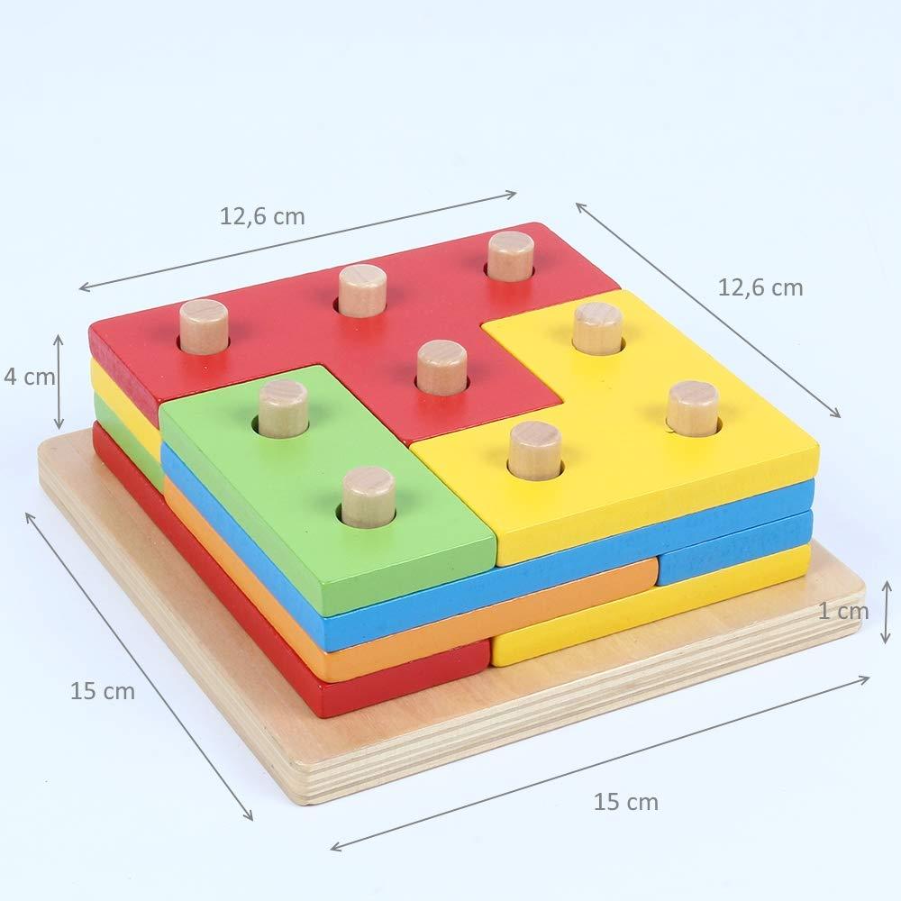 Puzzle de Madera 12 Piezas ofertas