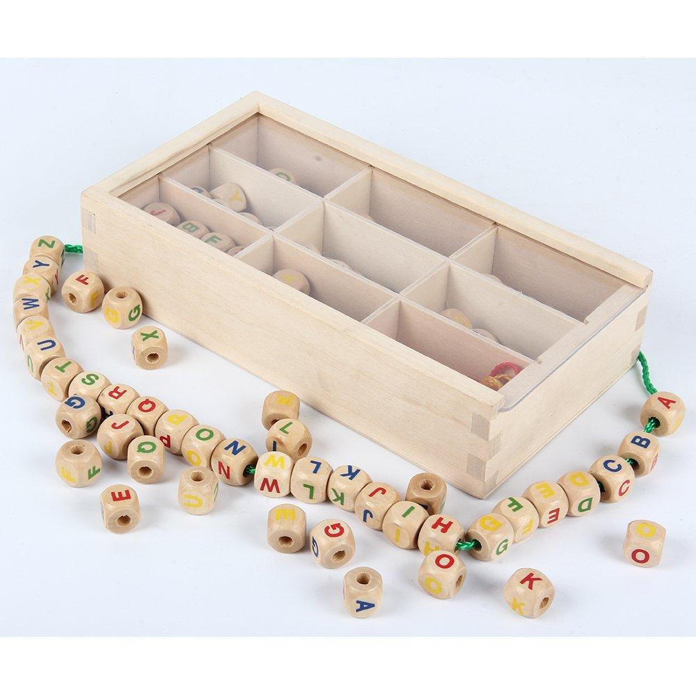 comprar juego para crear pulseras de madera