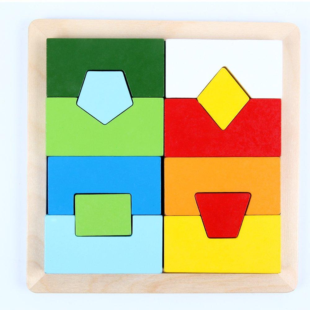 formas para encajar de madera niños