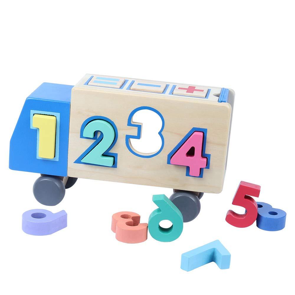 juego numeros niño formas
