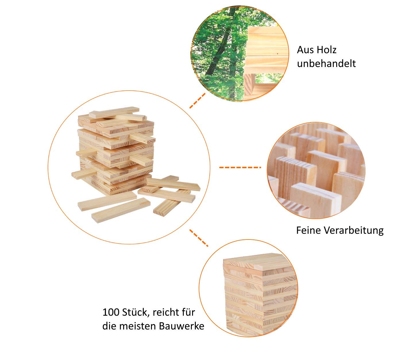 yenga de madera para adultois