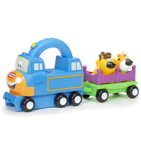 Coche Arrastre Big Top Charlie con dos animales