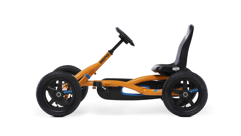 Kart Berg Buddy B-Orange - vista lateral izquierda