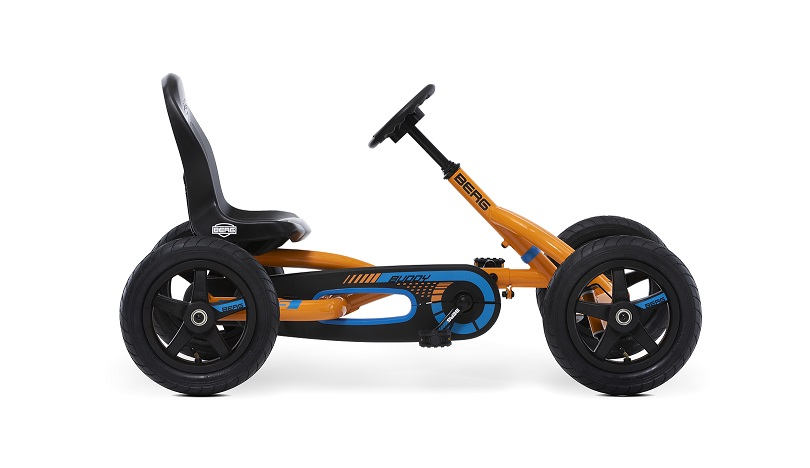 Kart Berg Buddy B-Orange - vista lateral derecha