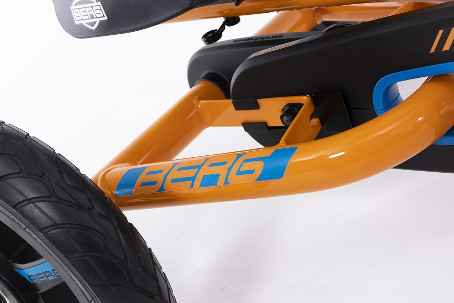 Kart Berg Buddy B-Orange - zoom chasis