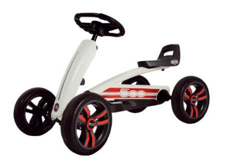 Kart pedales Berg Buzzy Fiat 500
