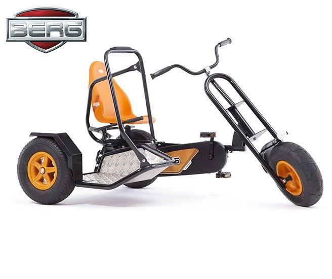 KART A PEDALES BERG DUO CHOPPER BFR 4
