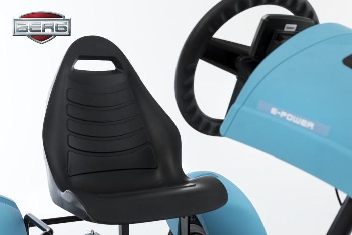 Kart de pedales berg hybrid e-bf - asiento
