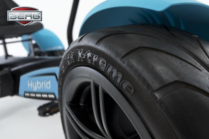 Kart de pedales berg hybrid e-bf - rueda