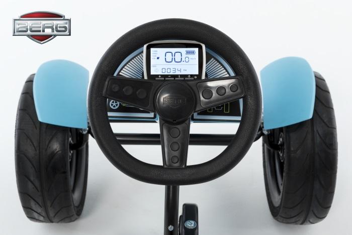 Kart de pedales berg hybrid e-bf - volante