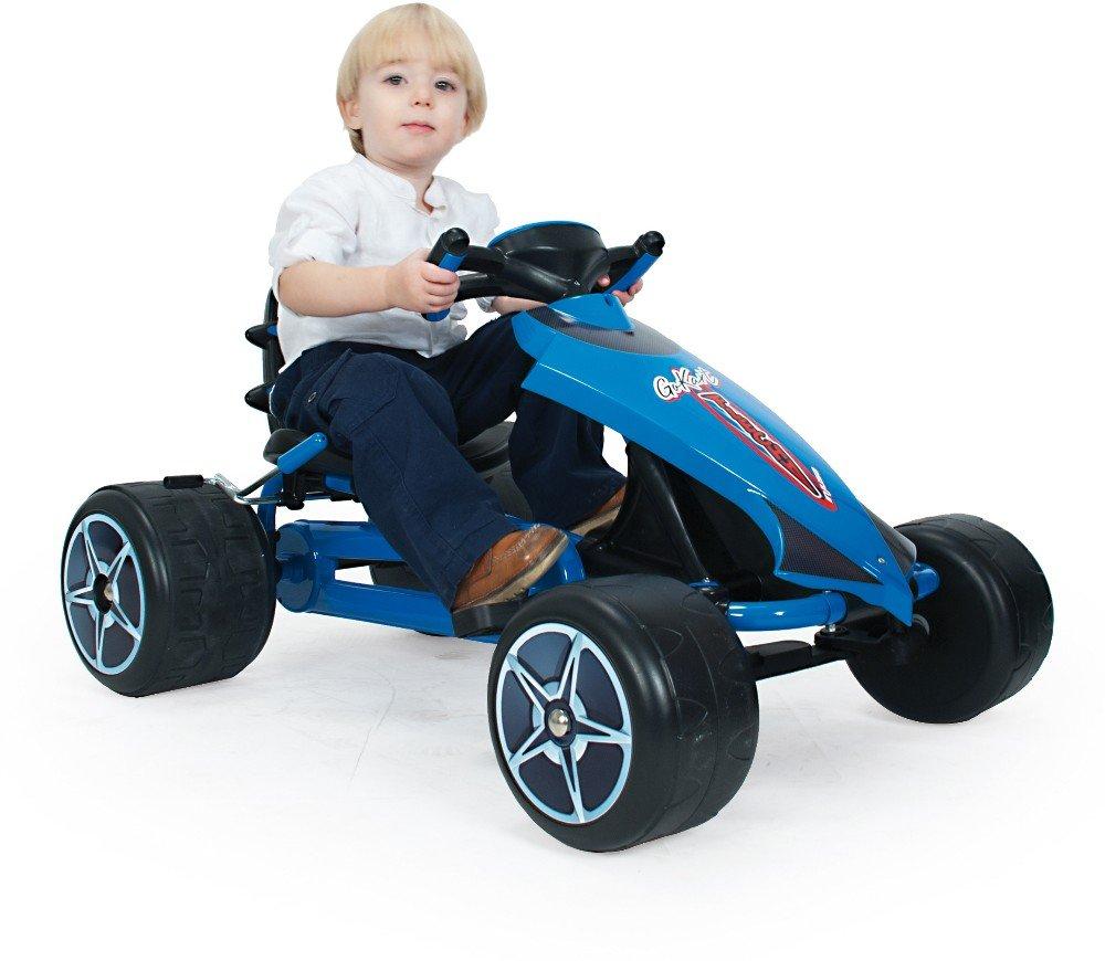 Go kart flecha blue piñón libre