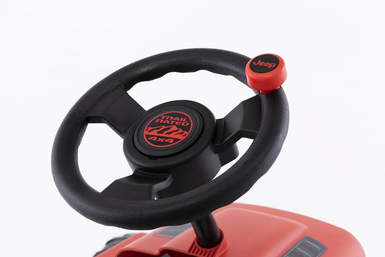 Kart Berg Buzzy Jeep Rubicon - zoom volante