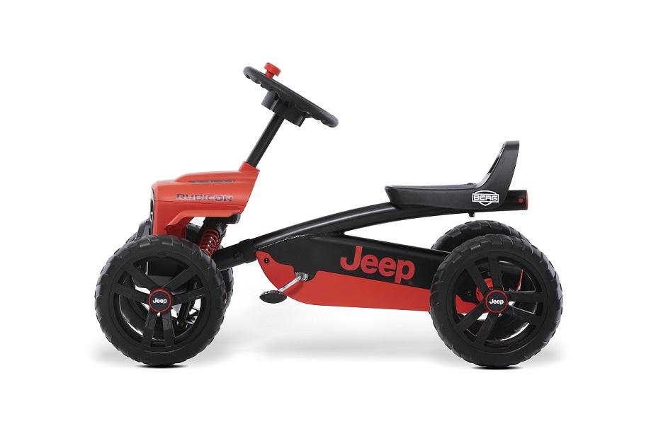 Kart Berg Buzzy Jeep Rubicon - lateral izquierdo