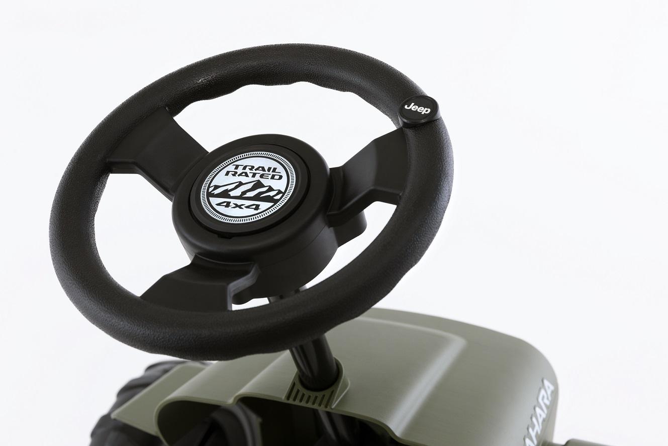 Kart Berg Buzzy Jeep Sahara - volante