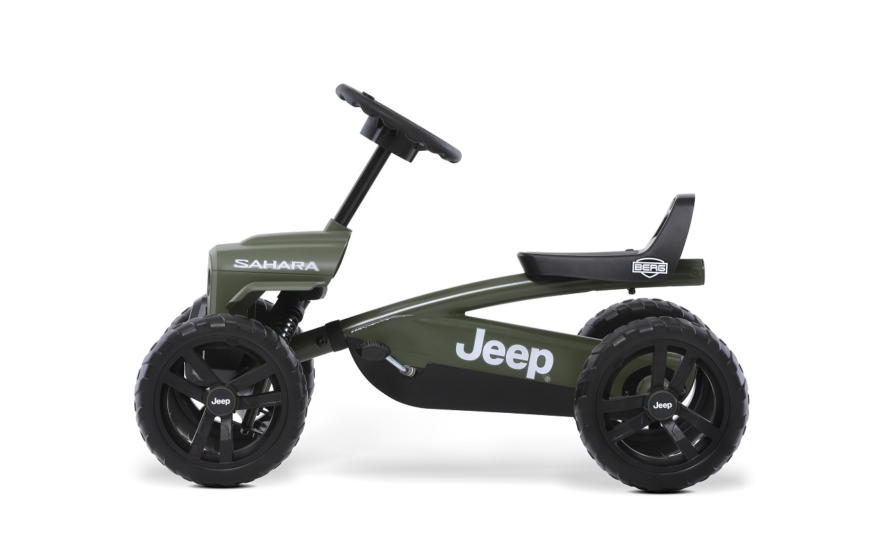 Kart Berg Buzzy Jeep Sahara - lateral izquierdo