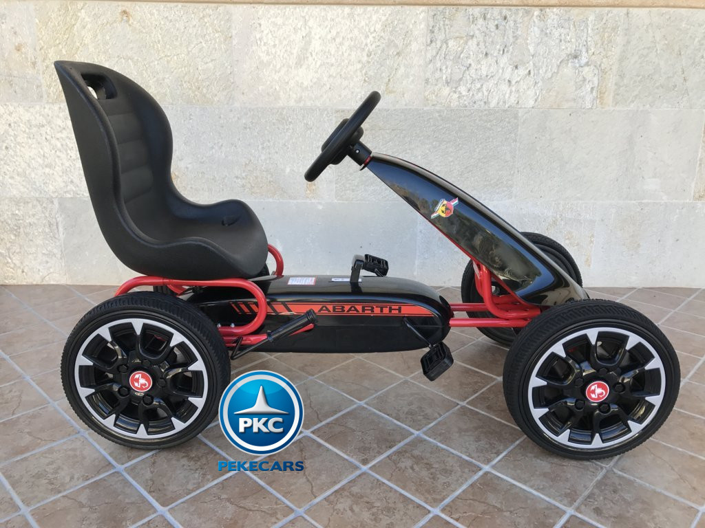 KART A PEDALES FIAT ABARTH NEGRO LATERAL DERECHO1 width=