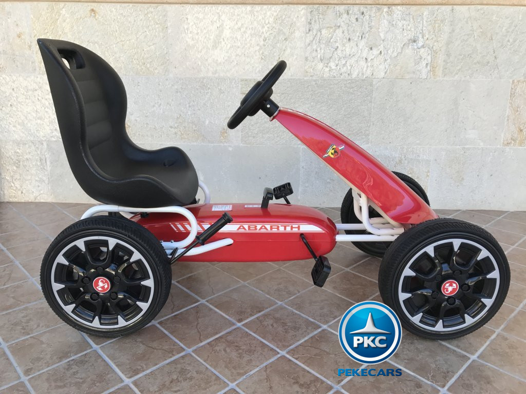 KART A PEDALES FIAT ABARTH ROJO LATERAL DERECHO1